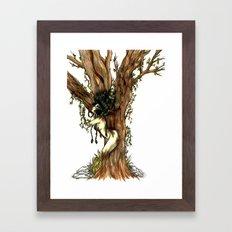 Elemental series - Earth Framed Art Print