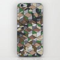 CUBOUFLAGE MULTI (LARGE) iPhone & iPod Skin