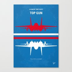 No128 My TOP GUN Minimal… Canvas Print
