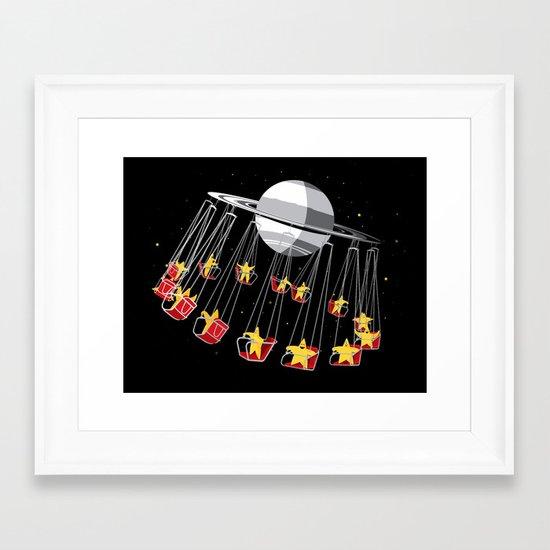 Chairoplanet Framed Art Print