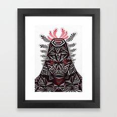 t r i b a l  Framed Art Print