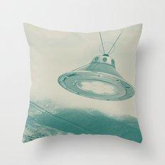 UFO II Throw Pillow