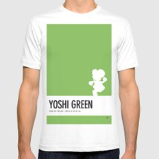 No36 My Minimal Color Code poster Yoshi Mens Fitted Tee White SMALL