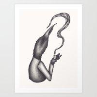 Molten Light Art Print
