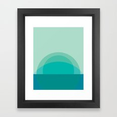 Cacho Shapes LXIV Framed Art Print