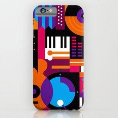 Music Mosaic iPhone 6 Slim Case