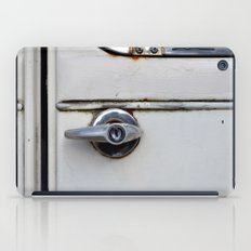 Rusty door iPad Case