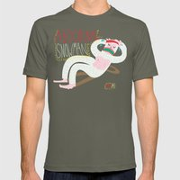 Abdominal Snowman Mens Fitted Tee Lieutenant SMALL
