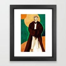 Dos Equis Wan Framed Art Print