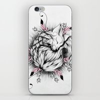 Little Fox Pink Version  iPhone & iPod Skin