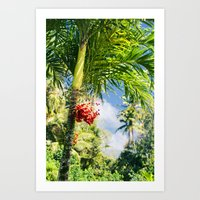 Keanae Palm Beauty Art Print