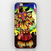 Majora's Mask iPhone & iPod Skin