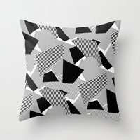 Little Mess Throw Pillow