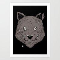 TEETHING Art Print