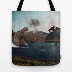 King Godzilla Tote Bag