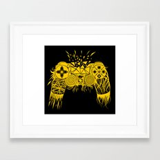 out-of-controller Framed Art Print