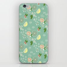 Summer Print Seafoam iPhone & iPod Skin