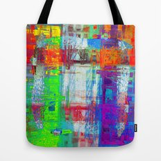 There's nothing waiting, there's nothing imminent, Tote Bag