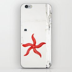 white&red mediterráneo iPhone & iPod Skin