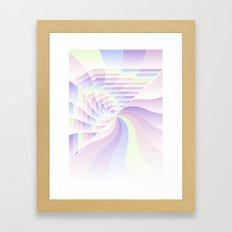 Cotton Candy Dream Framed Art Print