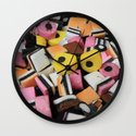 Sweets Candy cases Wall Clock