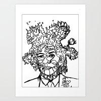 Jean Michel Basquiat-Rev… Art Print