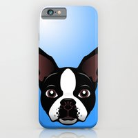 iPhone & iPod Case featuring boston by the art of dang