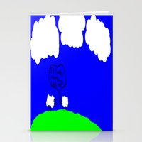 Watching The Clouds Go B… Stationery Cards