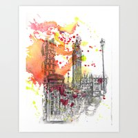 London Scene Art Print