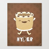 Coffee Cake Canvas Print