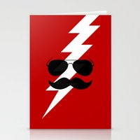 Boots Electric Stationery Cards
