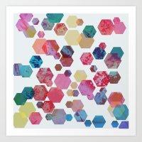 C13 Construct Hex V1 Art Print