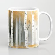 Autumn Wolf Mug