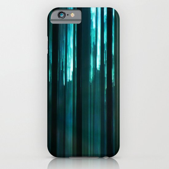 Forest in emerald green iPhone & iPod Case
