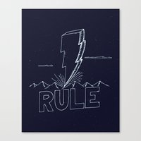 The Day We Rule Canvas Print
