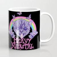 Heavy Meowtal Mug