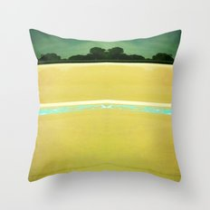 Beach to Paradise Throw Pillow