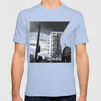 Inner Liquors Black & Wh… Mens Fitted Tee Tri-Blue SMALL