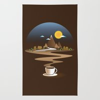 Old town coffee Rug