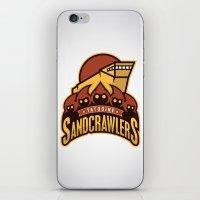 Tatooine SandCrawlers iPhone & iPod Skin