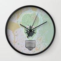 Think Martian  Wall Clock