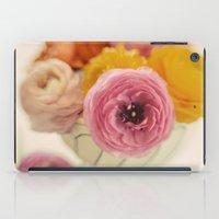 Vintage Ranunculus iPad Case