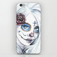 La Bella Muerte  iPhone & iPod Skin