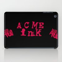 FOR THE WILD CARD INK CONVENTION TABLES iPad Case