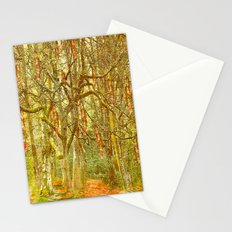 Hanging by a thread Stationery Cards