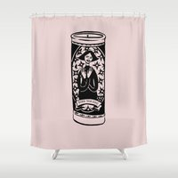 Burn Ur Icons Shower Curtain