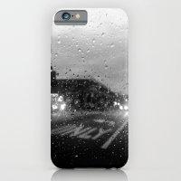 iPhone & iPod Case featuring Rain in Ridgewood by Sara Miller