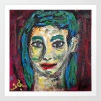 NANA BLEU  Art Print