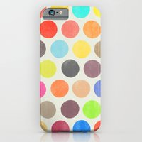 iPhone Cases featuring colorplay 1 by Garima Dhawan