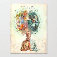 Right & Left Canvas Print